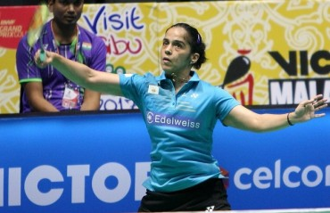 Saina in semis while Ajay ousted from Malaysia GPG
