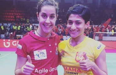 Ashwini Ponnappa reminisces her match against Marin in PBL; says it was a great honour