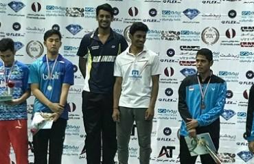 Men's doubles duo of Arjun MR/Shlok Ramachandran win Iran IC title