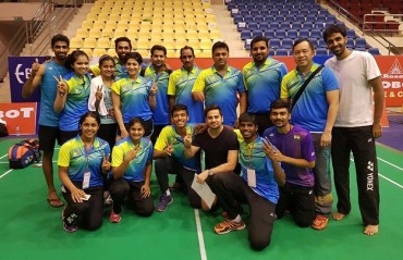 As promised, India beat Singapore with ease; heads towards the QF of BAMTC