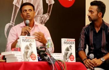 Dravid, Rahane launch Chopra's 'The Insider' in Mumbai