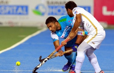 Home team Uttar Pradesh Wizards hold Dabang Mumbai in a 4-4 draw