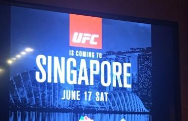 UFC set to make Singapore return with UFC Fight Night on June 17
