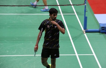 Srikanth ends his campaign at German GPG after losing to Chen Long