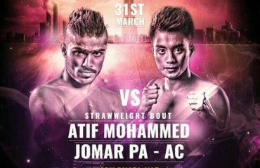 Atif Mohammed to feature in the Brave 4 fight card