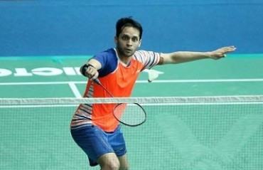 WATCH: Kashyap is ecstatic to get back on court after 2 months