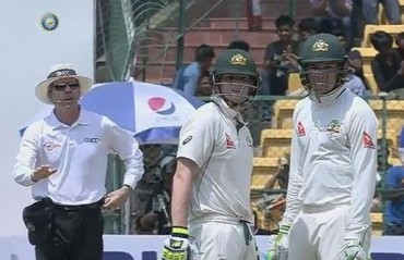 WATCH: Smith mistakes DRS for Dressing room Review System