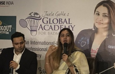 Jwala Gutta launches Global academy for badminton; aims to churn best talent from every city