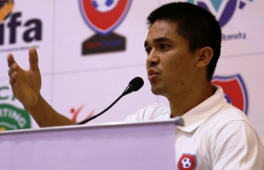 If the Federation & FPAI have problems then they should sort it out behind closed doors, says captain Sunil Chhetri