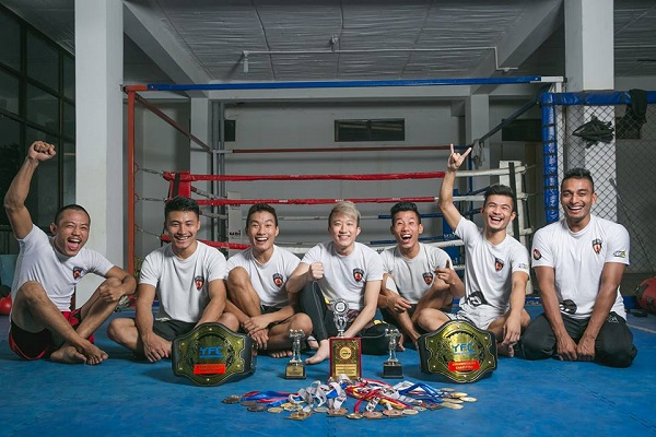 Longtsukumba MMA FIGHTER FROM NAGALAND