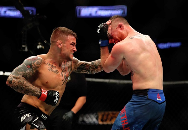 UFC on FOX 29: Dustin Poirier finishes Justin Gaethje in violent fashion