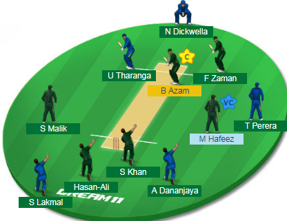 Sri Lanka bat against Pakistan in third ODI