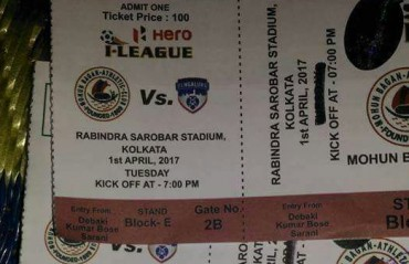 Ticket typo embarrasses Mohun Bagan ahead of crucial Bengaluru tie