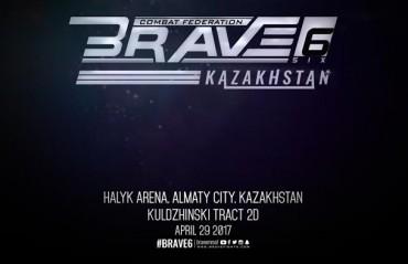 Brave Combat Federation reveals Venue for Brave 6