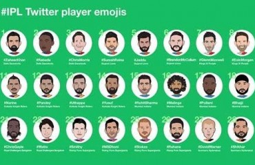 Twitter marks the start of IPL 10 with the launch of 30 player emojis