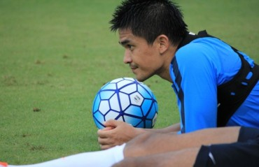 Captain Sunil Chhetri is happy with the jump in FIFA ranking but cautions not to get carried away