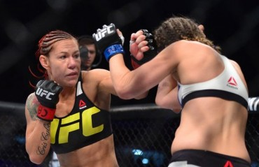Cris Cyborg announces that she will fight Germaine de Randamie for the title at UFC 214