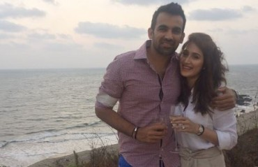 Zaheer Khan takes to twitter to announce his engagement with Sagarika Ghatge