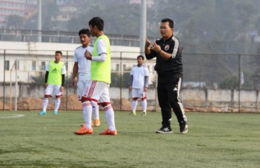 Singto says his team won't make it easy for Aizawl FC to lift the trophy