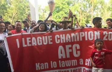 WATCH: the state of Mizoram celebrates Aizawl FC's historic I-League triumph