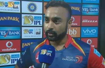 We can break into top four, but are only taking one game at a time: Amit Mishra