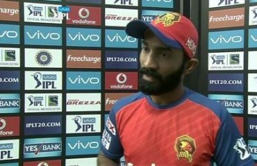 We don't deserve to be in the playoffs, says Dinesh Karthik