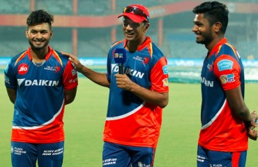 Glad you haven't been watching my videos :Dravid tells Pant and Samson