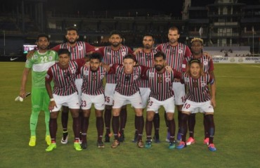 Mohun Bagan team bus meets with accident, gets mobbed by locals, players unharmed