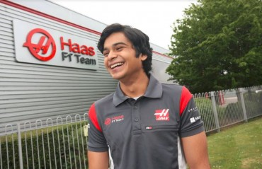 Haas F1 team signs Arjun Maini as development driver
