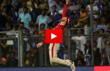 WATCH: Martin Guptill's one-handed stunner that ended Lendl Simmons' innings
