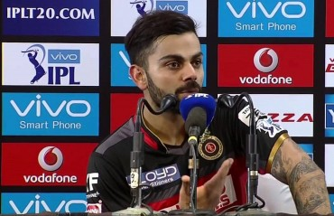 There are a total of 3-5 players in the team whom we would like to retain: Kohli