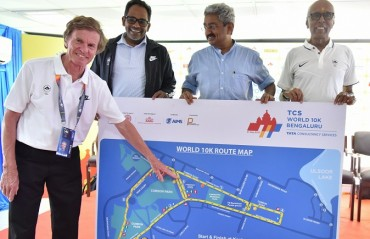 Bengaluru gears up for the tenth edition of the TCS World 10K