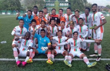 Where will Neroca FC, I-League 2nd Division Champions, play in the next season?