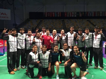 Sudirman Cup: India keep their hopes alive with a emphatic 4-1 win over Indonesia