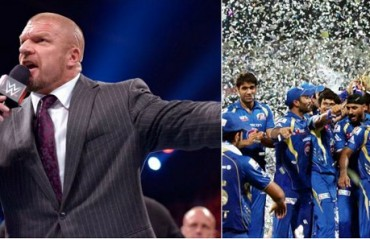Triple H congratulates Mumbai Indians, Promises to send a gift