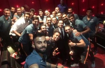 LASTING IMAGE: Tendulkar thanks team India for making his biopic premiere special
