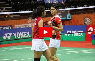 RELIVE Ashwini Ponnappa & Sikki Reddy's brilliance against the Indonesian pair