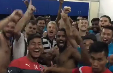 WATCH: Albert Roca leads the celebration post Bengaluru FC's win over Maziya