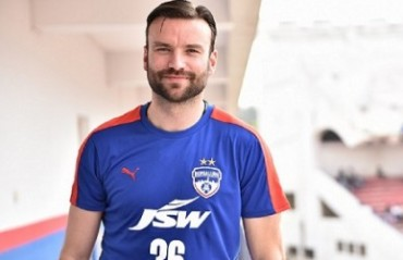 Marjan Jugovic ends his playing tenure at Bengaluru FC
