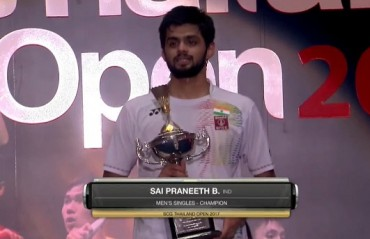 Praneeth bags another title, wins Thailand GPG