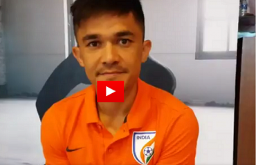 WATCH: Captain Sunil Chhetri's message to all fans in Bengaluru