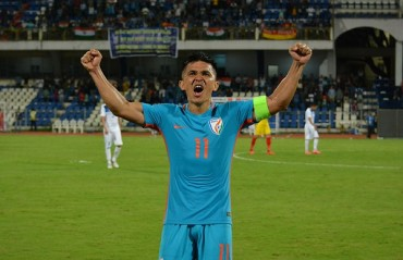 WATCH and re-live captain Chhetri's amazing goal vs Kyrgyz Republic