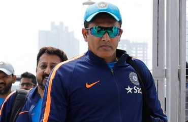 Kumble steps down as India coach, won't travel to West Indies