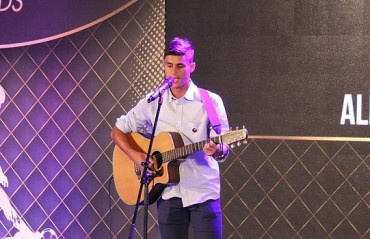 The musical side of Eugeneson Lyngdoh, the midfield genius