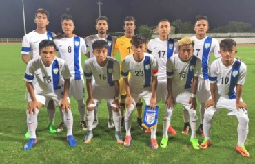 India U-19 lose to Singapore U-19 by a goal to none after being a man down