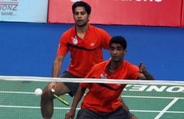 Attri-Reddy win the men's doubles title in Belgium