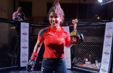 #TFGinterview:  Fighting towards her goal – In Conversation with Indian MMA fighter Priya Sharma