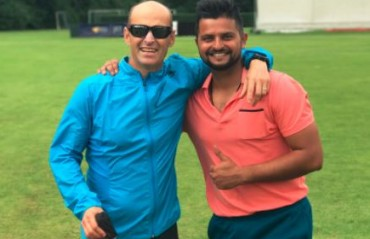 WATCH: Suresh Raina enjoys training session with 'super talented' Gary Kirsten