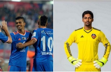 Mandar Rao Desai and Kattimani sign 3-year contracts with FC Goa