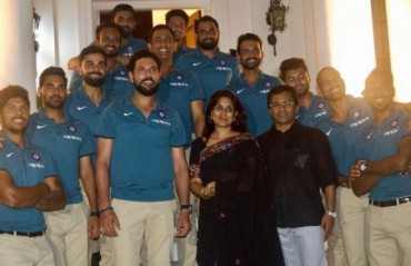 WATCH: Team India visit High Commission in Jamaica